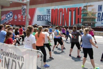 Downtown Indy | Workout Wednesdays presented by Anthem Blue
